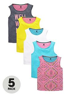 v-by-very-girls-bright-vests-5-pack