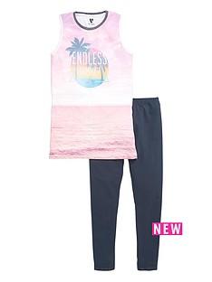 v-by-very-girls-side-split-printed-vest-and-leggings-set-2-piece