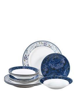 midnight-garden-12-piece-dinner-set