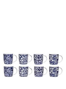 china-blue-8-piece-mug-set
