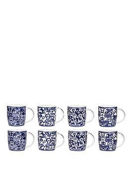 china-blue-8-piece-mug-set