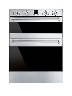 smeg-dusf363x-60cm-under-counter-double-electric-oven