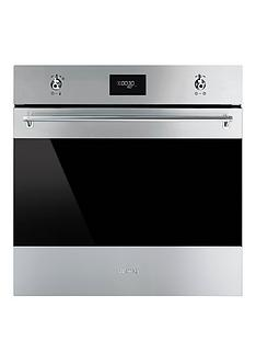 smeg-sf6372x-60cm-built-in-single-electric-oven-stainless-steel