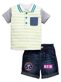 ladybird-baby-boys-polo-top-amp-denim-shorts