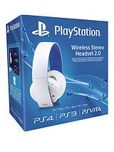 Wireless White Stereo Headset 2.0 for PS4