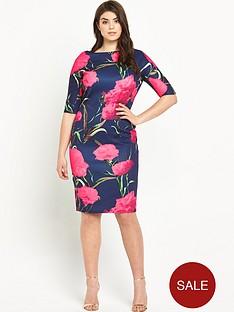 ax-paris-curve-ax-paris-curve-bodycon-printed-dress