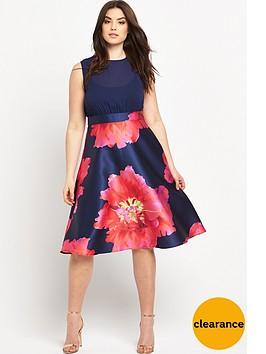 ax-paris-curve-floral-print-dress