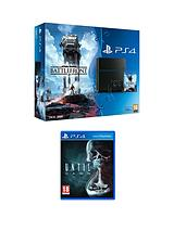 PS4 500gb PS4 Star Wars Battlefront Bundle with Until Dawn
