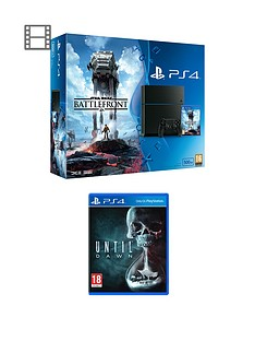 playstation-4-ps4-500gb-ps4-star-wars-battlefront-bundle-with-until-dawn