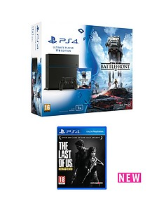 playstation-4-ps4-1tb-star-wars-battlefront-bundle-with-the-last-of-us