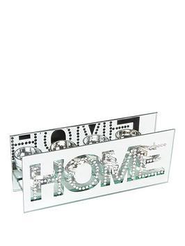 Photo of Hestia mirror & crystal tea-light holder – home
