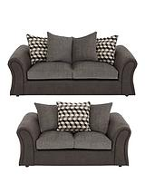 Aniston 3-Seater + 2-Seater Sofa Set (Buy and SAVE!)