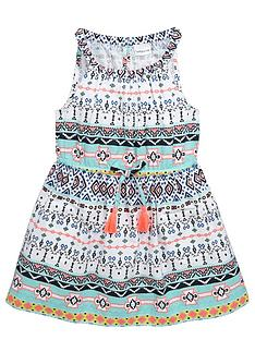 ladybird-girls-woven-tribal-print-dress