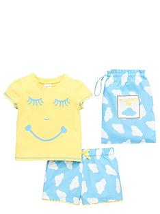 ladybird-girls-woven-sleepy-face-shortynbsppj-set-with-bag