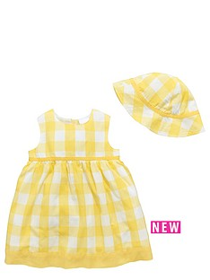 ladybird-baby-girls-gingham-woven-summer-dress-amp-hat