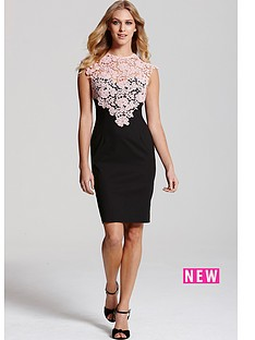 paper-dolls-paper-dolls-black-sleeveless-dress-with-pink-lace-top