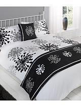 Highbury Bed in a Bag - Black/White