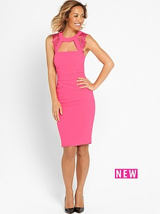 myleene-klass-lace-panel-pencil-dress