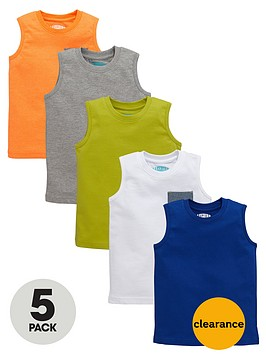 ladybird-boys-tank-tops-5-pack
