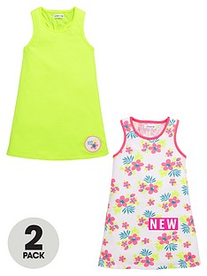 ladybird-girls-bright-strappy-dresses-2-pack
