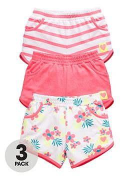 ladybird-girls-jersey-summer-shorts-3-pack