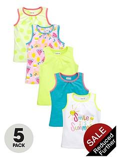 ladybird-girls-bright-vests-5-pack