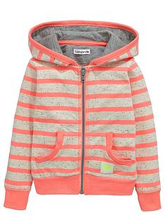 ladybird-girls-stripe-zipped-hoodie