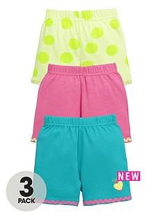 ladybird-baby-girls-3-pk-bright-summer-shorts