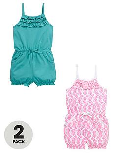 ladybird-jersey-frilly-playsuitsnbsp2-pack