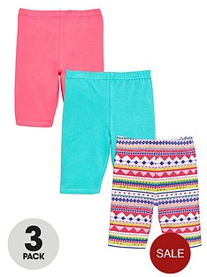 ladybird-girls-cycling-shorts-3-pack