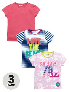 ladybird-girls-summer-t-shirts-3-pack