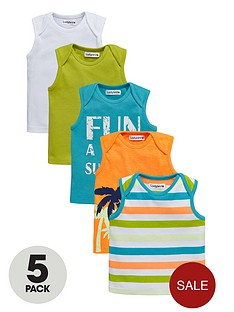 ladybird-baby-boys-bright-summer-vests-5-pack