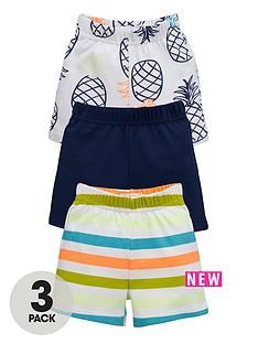 ladybird-baby-boys-3-pk-bright-summer-shorts