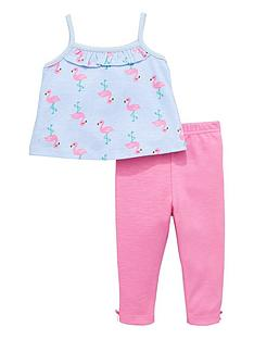 ladybird-baby-girls-flamingo-top-and-leggings-set-2-piece