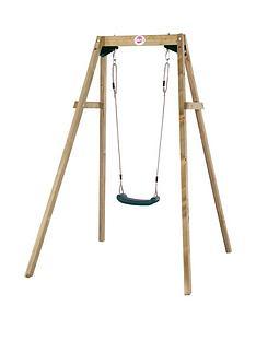 plum-wooden-single-swing-set