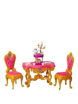 Photo of Disney princess beauty & the beast belles be our guest dining set
