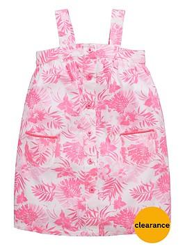 ladybird-girls-strappynbspfloral-woven-dress