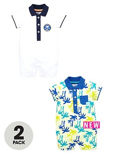 ladybird-baby-boys-polo-rompers-2-pack