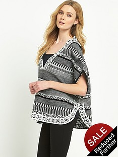 v-by-very-patterned-poncho