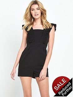 v-by-very-pleated-front-playsuit