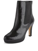 Kendra August Heeled Ankle Boot