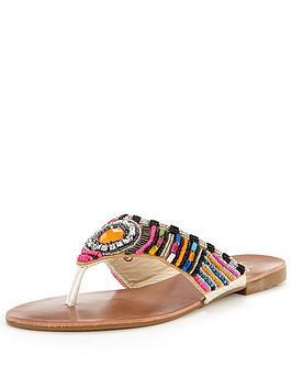 joe-browns-vibrant-beaded-sandal