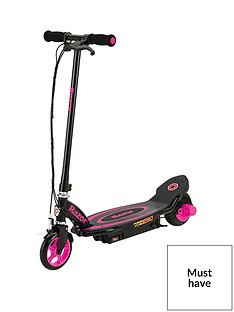 Razor Powercore E90 Scooter - Pink