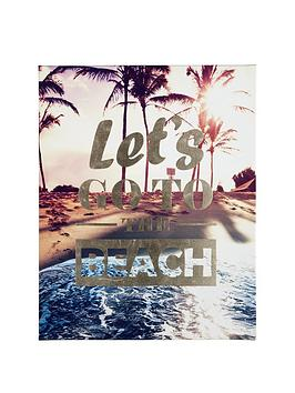 graham-brown-lets-go-to-the-beach-canvas