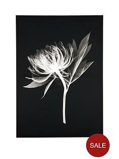 floral-silhouette-canvas