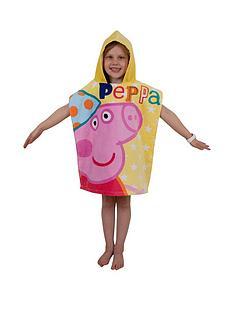 peppa-pig-funfair-poncho-towel