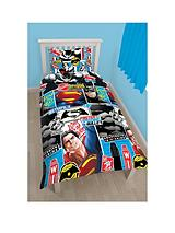 Reversible Single Size Duvet Cover and Pillowcase Set