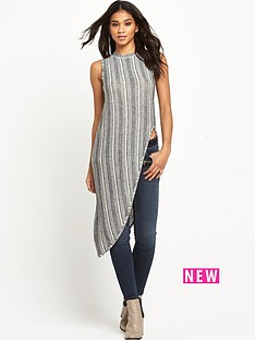 river-island-knitted-stripe-asymmetric-top