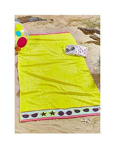 pineapple-large-beach-towel