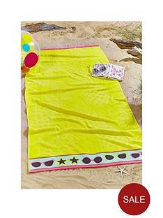 pineapple-large-beach-towel